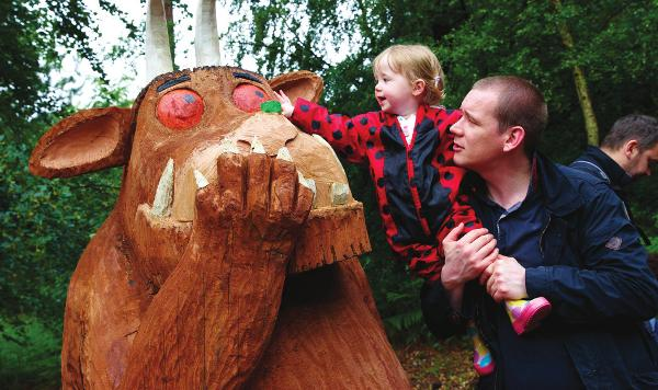 Join The Gruffalo's Child on her forest adventure