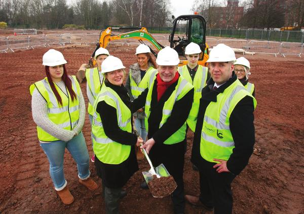Ground Breaking Ceremony Leicester College Skills Village