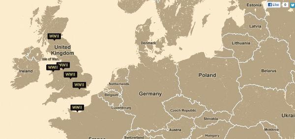 Website maps the memories of World War II veterans