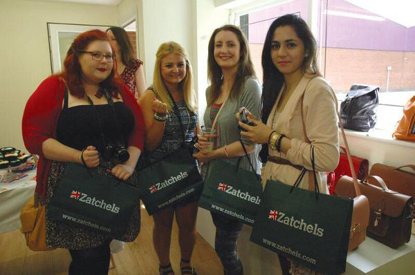 Zatchels Open Factory Shop in Leicester