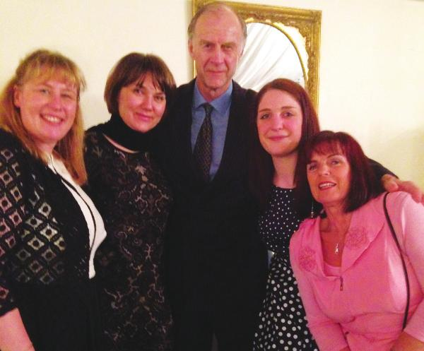 Sir Ranulph Fiennes attends charity fundraiser