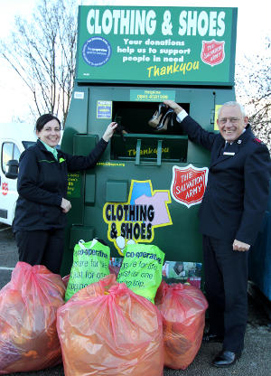 Christmas Clothing Drive for Salvation Army and Midlands Co-operative Society