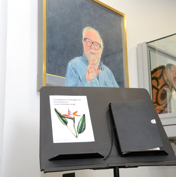 University of Leicester opens book of condolences for Lord Attenborough