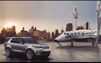 Land Rover announces global partnership with Virgin Galactic