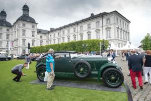 Bentley Blue Train Dominates Schloss Bensberg Classics
