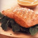 Hot Open Salmon Sandwich