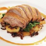 Breast of duck with Orange Sauce