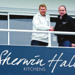 New changing rooms for the Foxes thanks to Sherwin Hall Kitchens