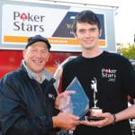 Conor cummins wins 2011 PokerStars Spirit of the TT award