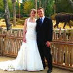 Animal lovers can say 'I do' at Twycross Zoo