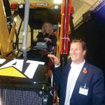 Caterpillar 250,000th Backhoe Loader manufactured in Leicester