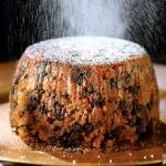 Carrot Christmas Pudding