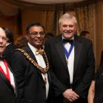 LLS Host Dinner with Leicester's influential