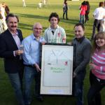 Sponsorship launch evening a great success for local cricket club