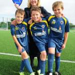 Boost For Kirby Muxloe 88 U9s FC Thanks To David Wilson Homes
