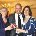 Anne and Peter Lawson ( High Sheriff of Rutland) With Diana Brooks